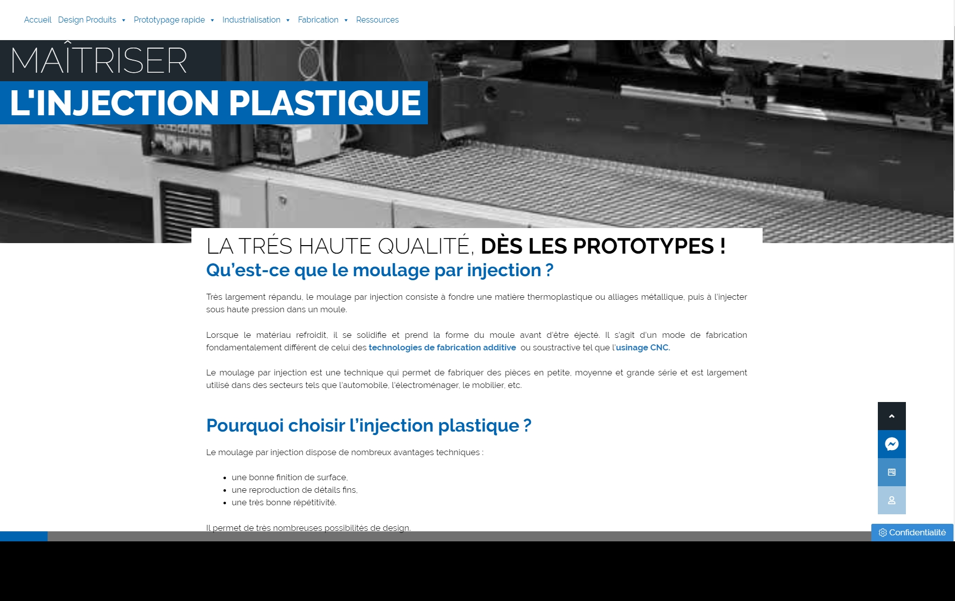 Rédaction site Hybster